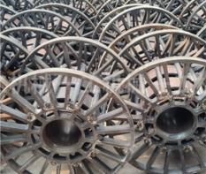 钢质工字轮